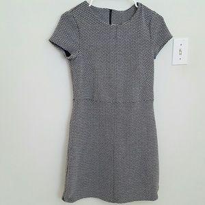 H&M Thick Textured Gray Dress